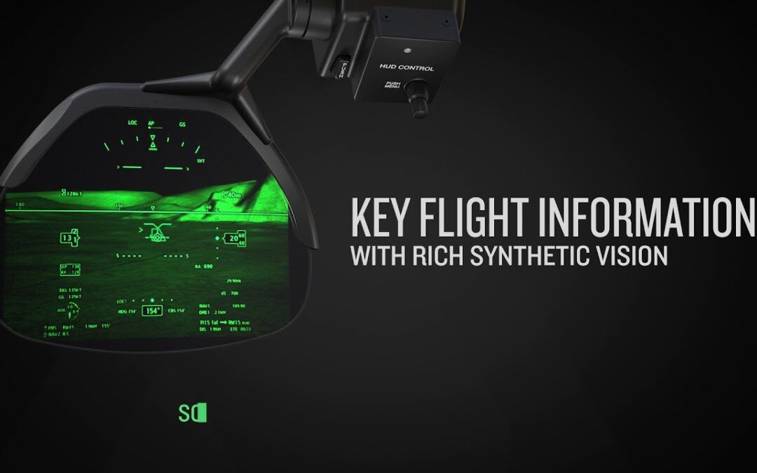 Garmin GHD 2100 Head-up Display: Advanced Awareness in Every Phase of Flight.