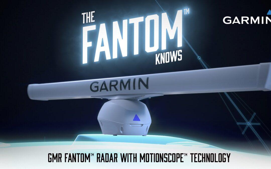 Introducing the Garmin GMR Fantom Radar with MotionScope technology