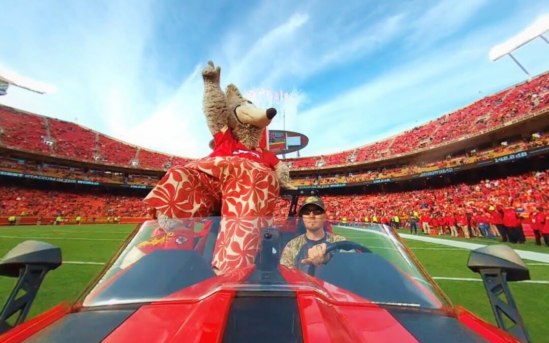 Garmin VIRB 360: Ride with KC Wolf from the Kansas City Chiefs