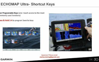 Garmin Marine Webinars: ECHOMAP Ultra User Interface