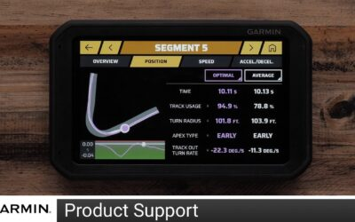 Support: Lap and Segment Review on Garmin Catalyst