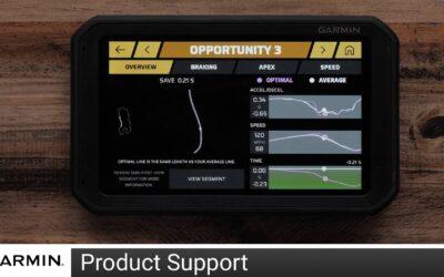 Support: Opportunities Feature on Garmin Catalyst