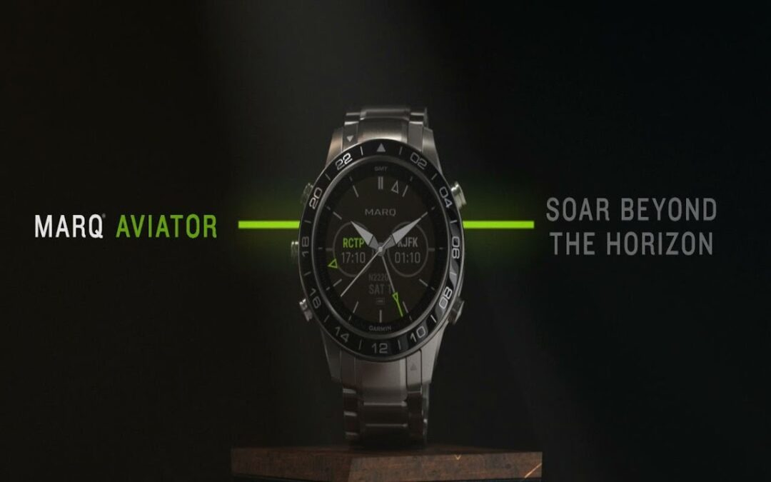 MARQ Aviator by Garmin: See Flight Information at a Glance