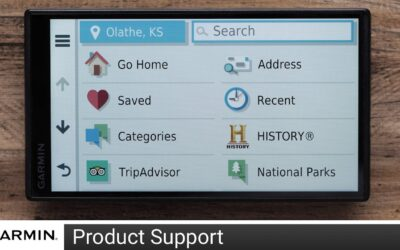 Support: Finding, Saving & Deleting Addresses on an Automotive Device