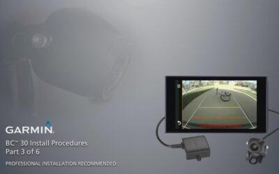 Garmin BC 30 Wireless Backup Camera – Installation: Part 3 – Install Procedures