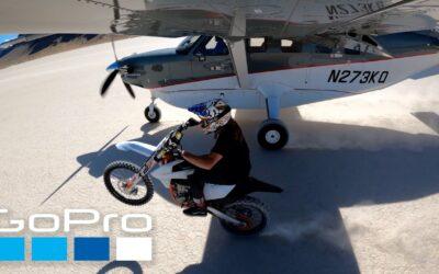 GoPro HERO9: Plane vs. Moto | HyperSmooth 3.0