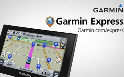 Garmin Express: Garmin Map Updates