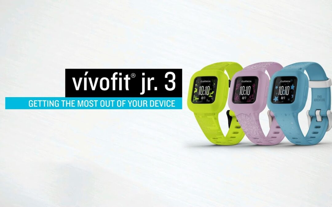 Garmin vívofit jr. 3: Getting the Most Out of Your Device