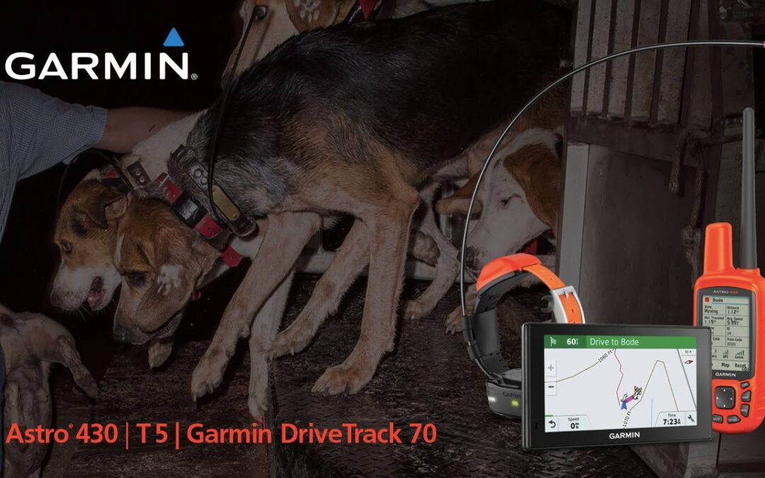 Garmin Astro 430 and DriveTrack 70 LMT: Partnering for New Dog Tracking Capabilities