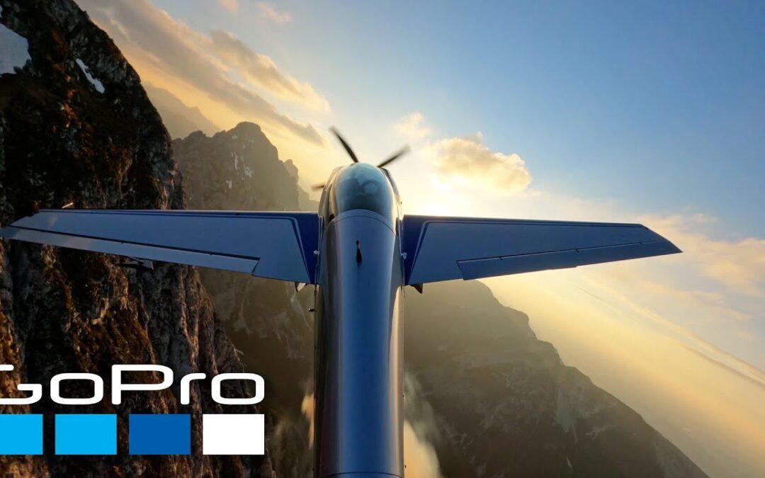 GoPro: Scenic Flight over the Austrian Alps