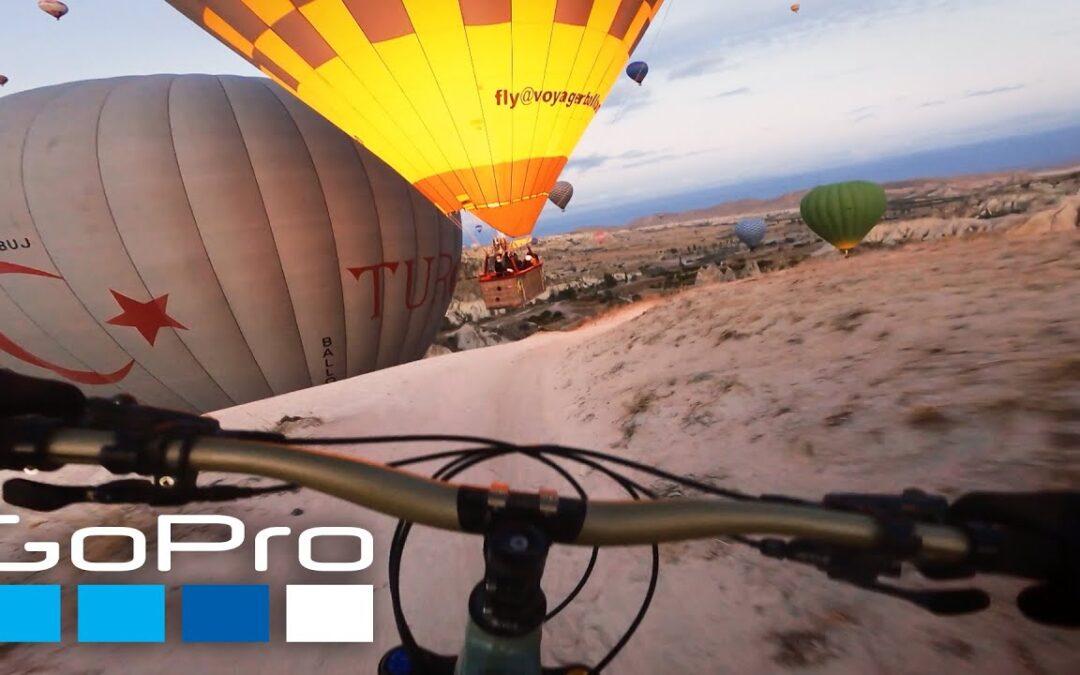 GoPro Awards: MTB with Hot Air Balloons in Cappadocia