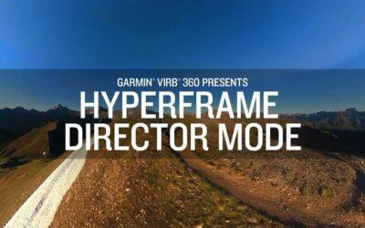 Garmin VIRB 360: HyperFrame Director Mode offers more creative control.