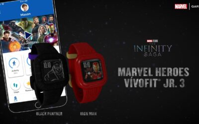 Garmin: Marvel Heroes vívofit Jr. 3 – Suit Up to Find Your Power
