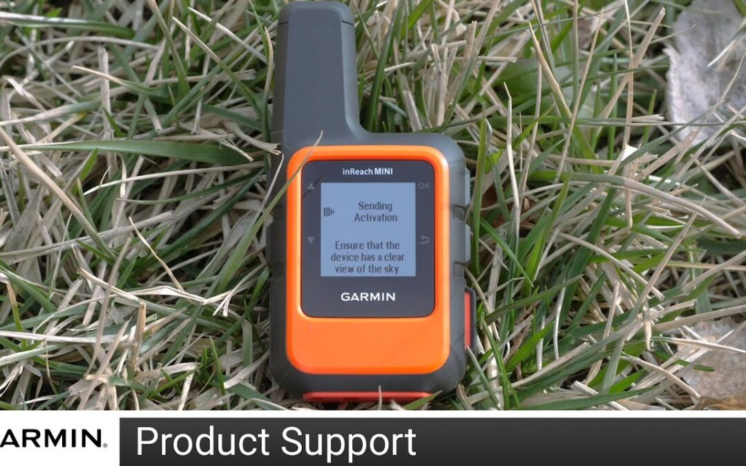 Support: Activating a Garmin inReach® Device