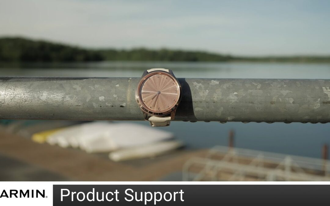 Support: Connected GPS on a vívomove® 3/3S, Style or Luxe