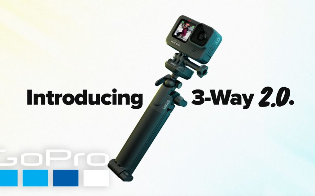 GoPro: Introducing 3-Way 2.0 | The Ultimate 3-in-1 Mount