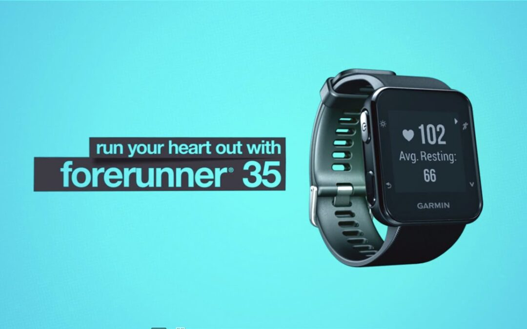 Forerunner 35: Easy-to-use GPS Running Watch with Wrist Heart Rate