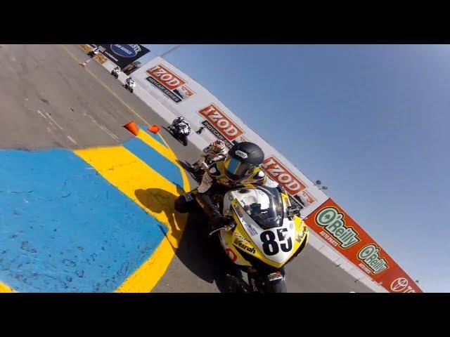 GoPro HD: AMA Pro Road Racing – Infineon 2012