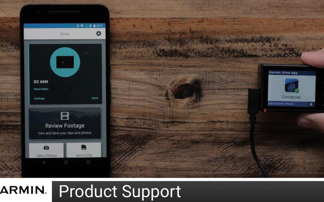 Support: Garmin Drive™ App Setup on an Android™ Device with a Dash Cam™ 46/56/66W