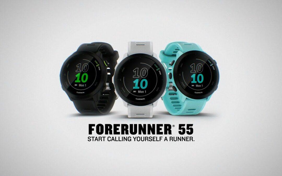 Garmin: Run with Forerunner 55