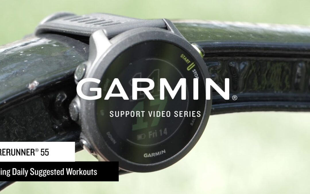 Support: Daily Suggested Workouts on the Forerunner® 55