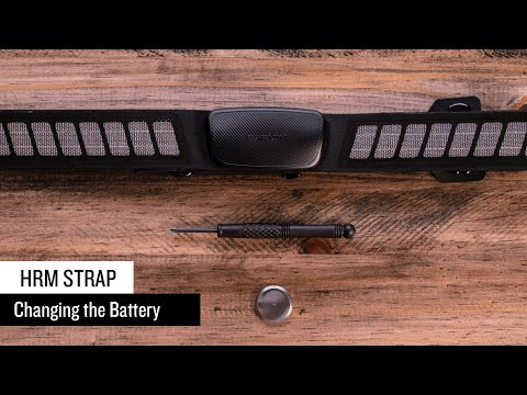Support: Changing the battery on a Garmin Heart Rate Monitor