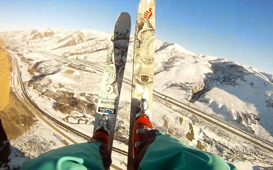 GoPro: Ski Base Front Flip