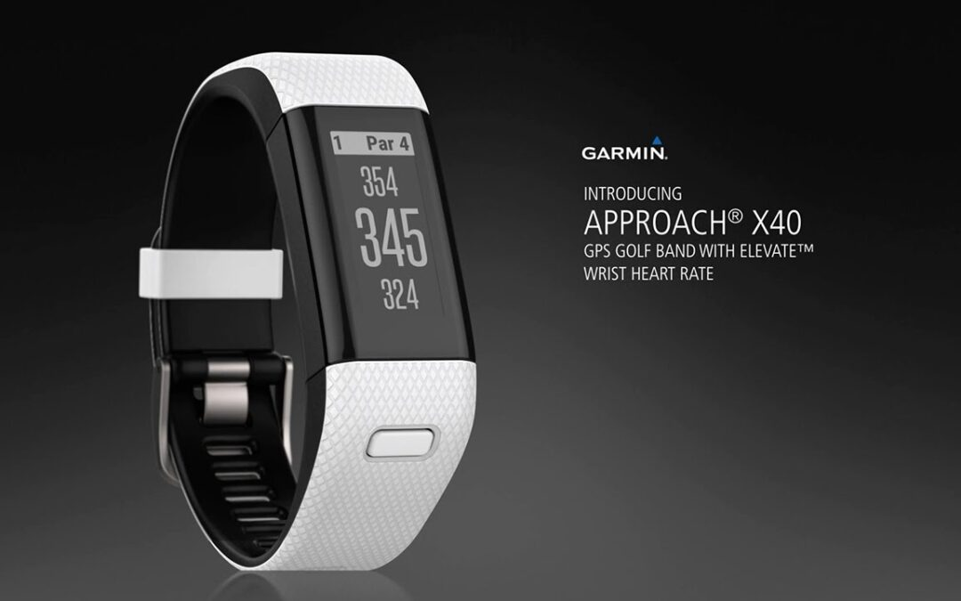 Approach X40: The GPS Golf Band for Everyday Wear
