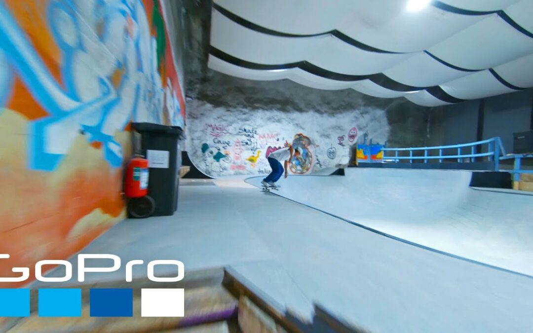 GoPro Awards: Indoor Skatepark FPV | Bunkeberget