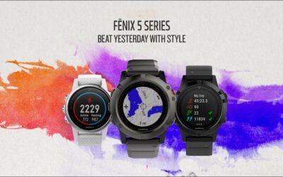 Garmin fēnix 5: Beat Yesterday with Style