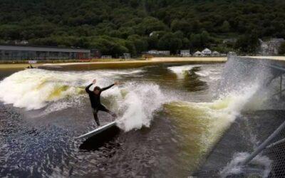 GoPro: Nick Woodman and Kalani Robb Surf Snowdonia