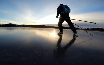 GoPro: Frozen Lake Skating