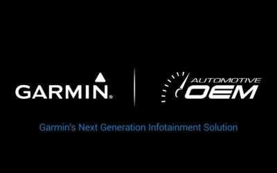 Garmin Next Gen Automotive OEM Infotainment (CES 2018)