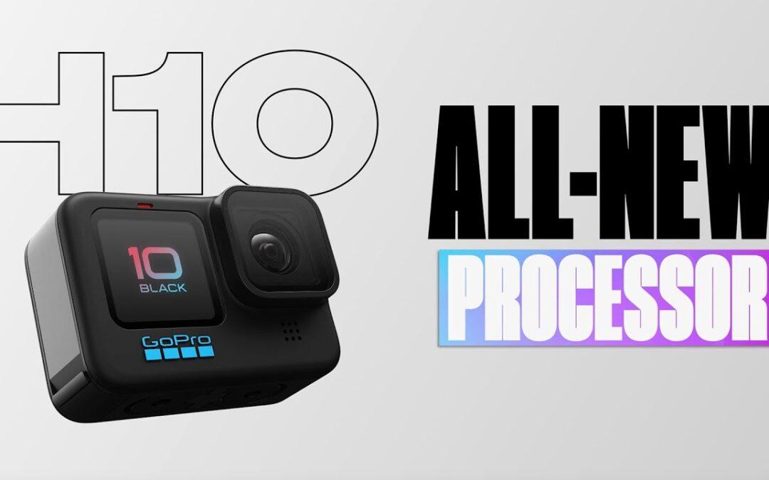 GoPro: HERO10 Black | New GP2 Processor