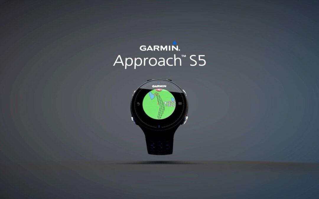 Garmin Approach S5: Full Color Touchscreen Golf GPS Watch
