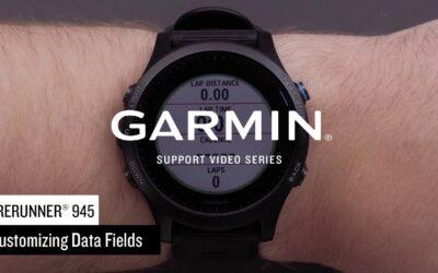 Support: Forerunner® 945 Data Field Customization