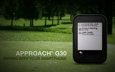 Garmin Approach G30: Pairing with Your Smartphone