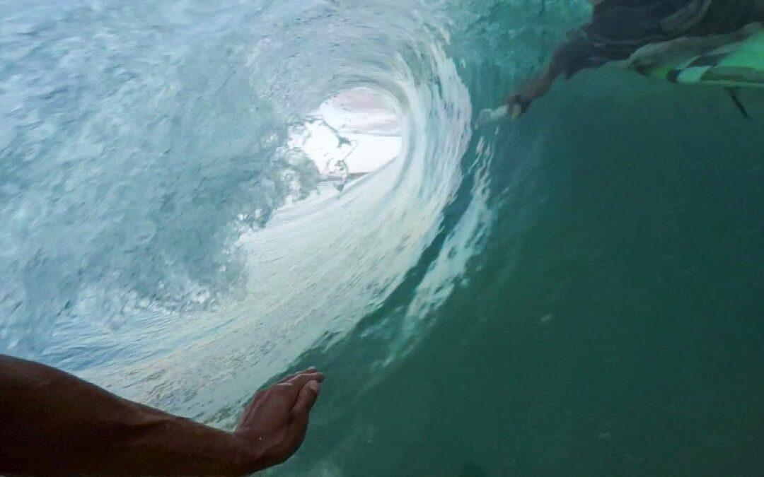 GoPro Surf: Solo Wave in Australia with Teddy Navarro