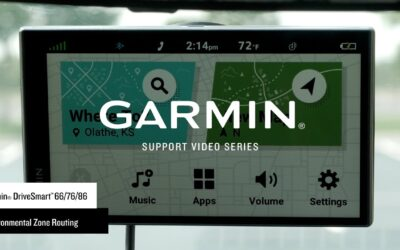 Support: Environmental Zone Routing on the Garmin DriveSmart™ 66/76/86 (Europe Only)